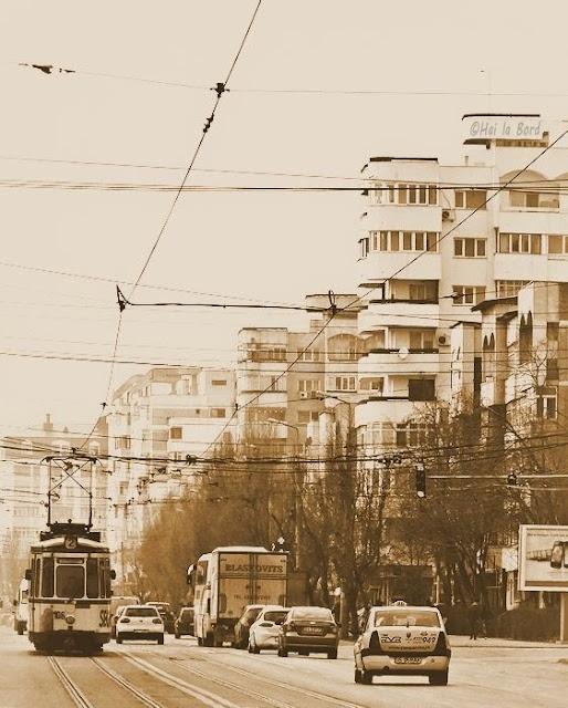 strada aglomerata iasi tramvaiul 2