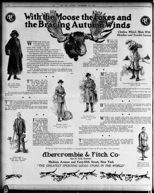 Abercrombie的百年秘密:一窺上流階層的野營生活