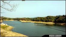 明德水庫湖景