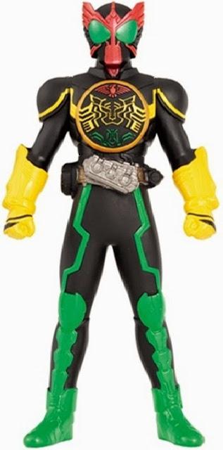 Hình ảnh Siêu nhân Kamen Rider OOO Tatoba Combo đẹp mắt