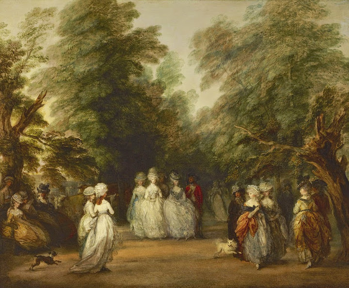 Thomas Gainsborough - The Mall in St. James's Park