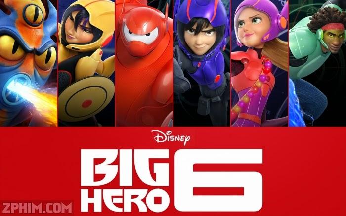 Ảnh trong phim Siêu Anh Hùng 6 - Big Hero 6 1