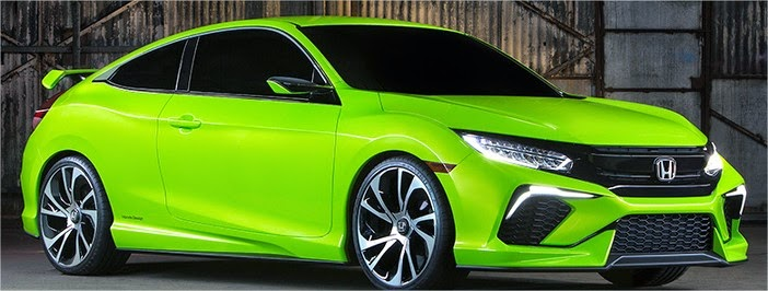 All-new 2016 Honda Civic Redesign Concept | Review