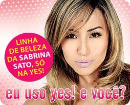 http   www.yescosmetics.com.br criacao sabrina makeof sabrina.wmv. TODA  LINHA SABRINA SATO BY YES! b5f1def3d1