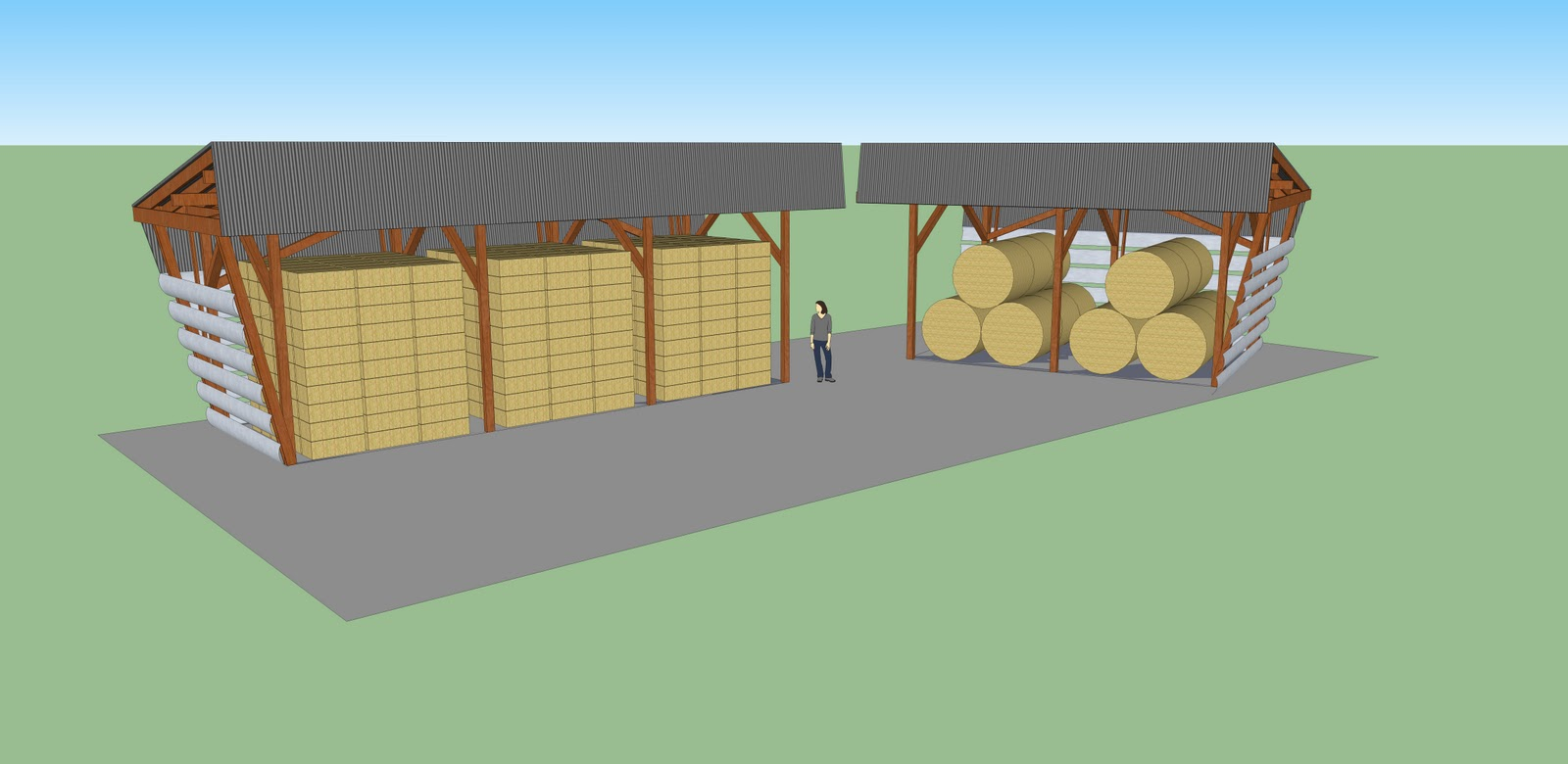 Barnstone design build 2 hay barn design 2 for Hay design
