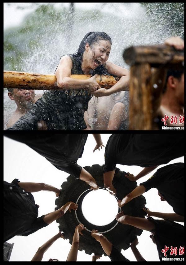 Gambar Latihan Pengawai Peribadi Di China