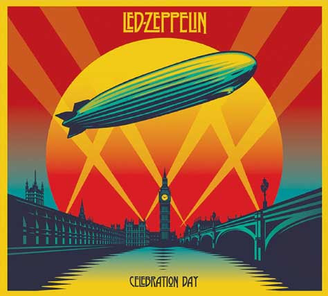 Led Zeppelin, portada de Celebration day