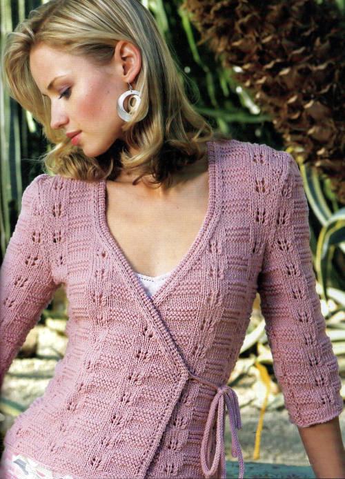 偏襟衫 - 编织幸福 - 编织幸福的博客