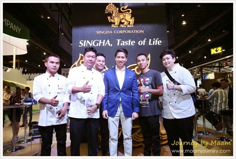 Thaifex 2015 สิงห์ คอร์เปอเรชั่น-2