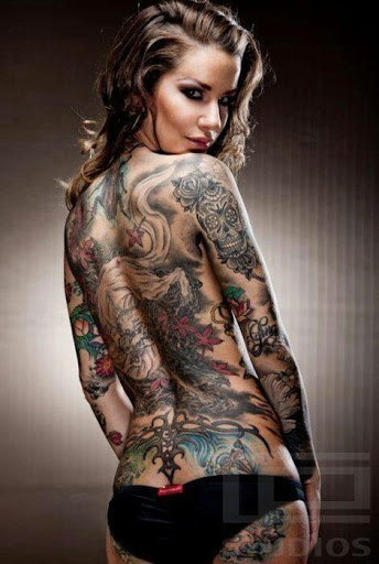 whole body tattoos