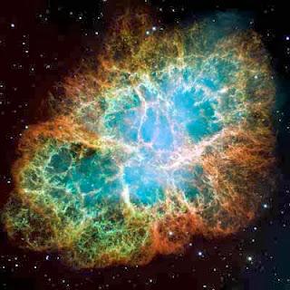 Crab Nebula Photo from Hubble