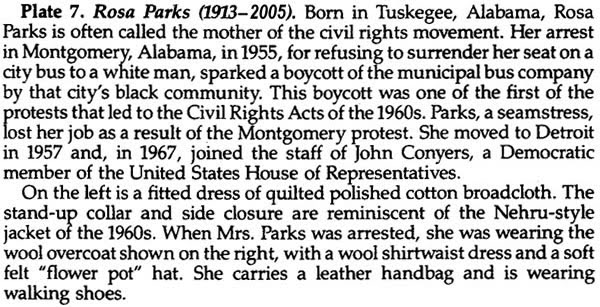 Black Doll Collecting: Rosa Parks Sample Paper Doll