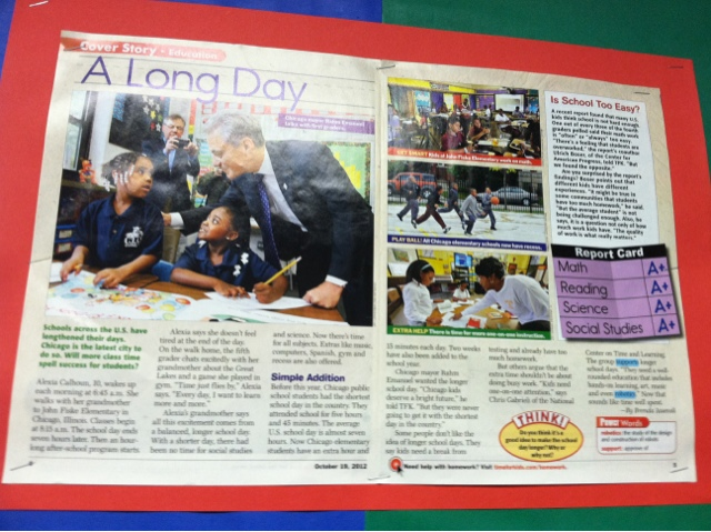 Feature article for kids