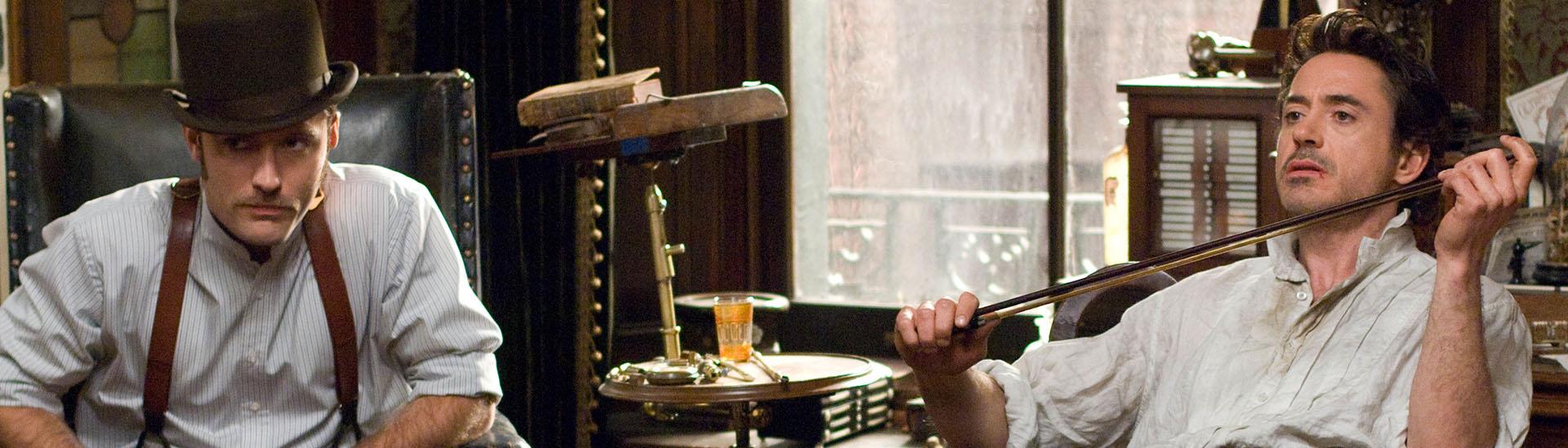 Baner filmu 'Sherlock Holmes'