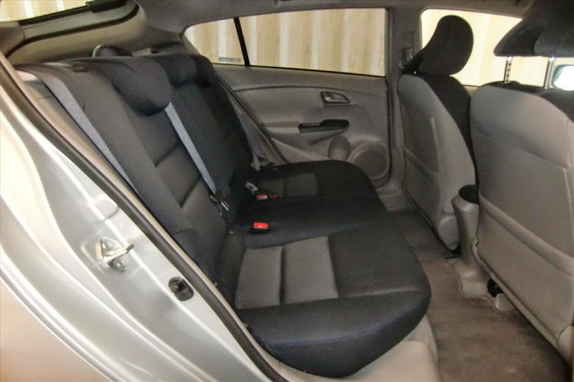 Back Seat Honda Insight