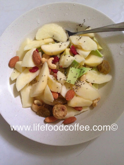 vegan recipe, www.lifefoodcoffee.com