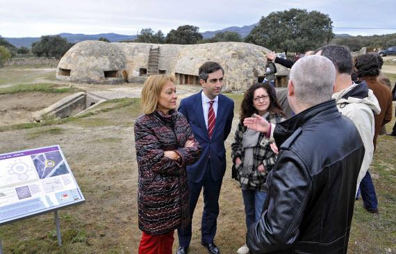 Acondicionada la visita al búnker de la Guerra Civil situado en Colmenar del Arroyo