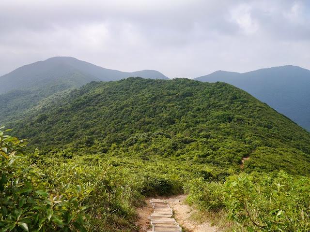 Dragon's Back trail in Hong Kong