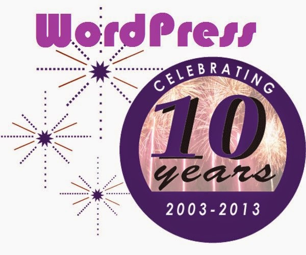 wordpress 10 years anniversary