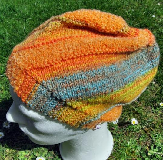 Mütze aus Wollresten