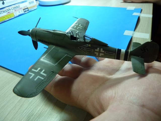 Focke Wulf Fw 190 D-9 - Academy - 1:72 - FINALIZADO! P1030545