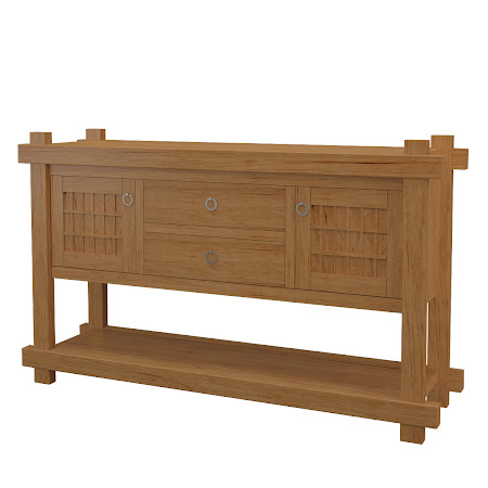 Tansu Sideboard in Calhoun Maple