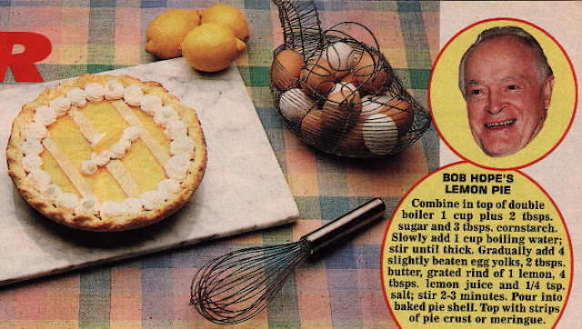 Bob Hope's Lemon Pie