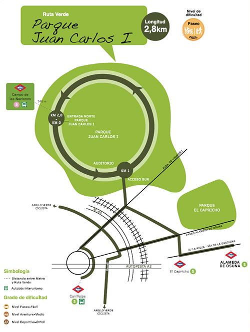 Ruta Verde Parque Juan Carlos I