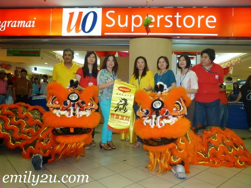 Chinese New Year Celebration @ UO Superstore, Ipoh