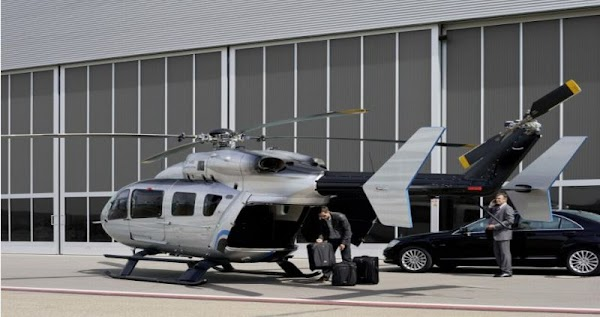 EC145 Mercedes-Benz Style Helicopter:for Men0