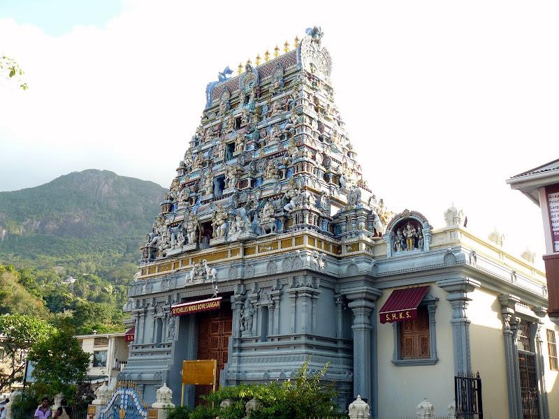 Victoria (Mahè) tempio indù