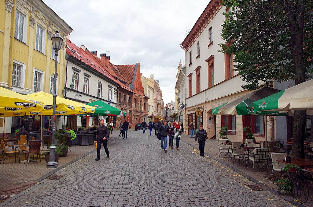 Qué ver en Vilna. Calle Pilies, Vilna, Vilnius