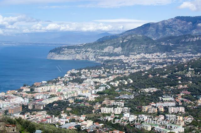 Sorrento manzarası, Güney İtalya