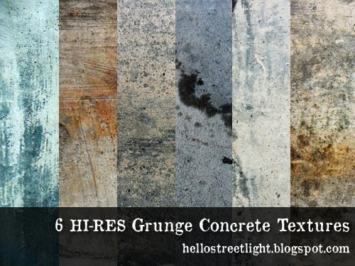 Free Hi-res Grunge Concrete Texture Pack