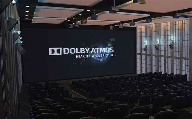 Cine con Dolby Atmos