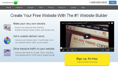 Webstarts.com free online website builders