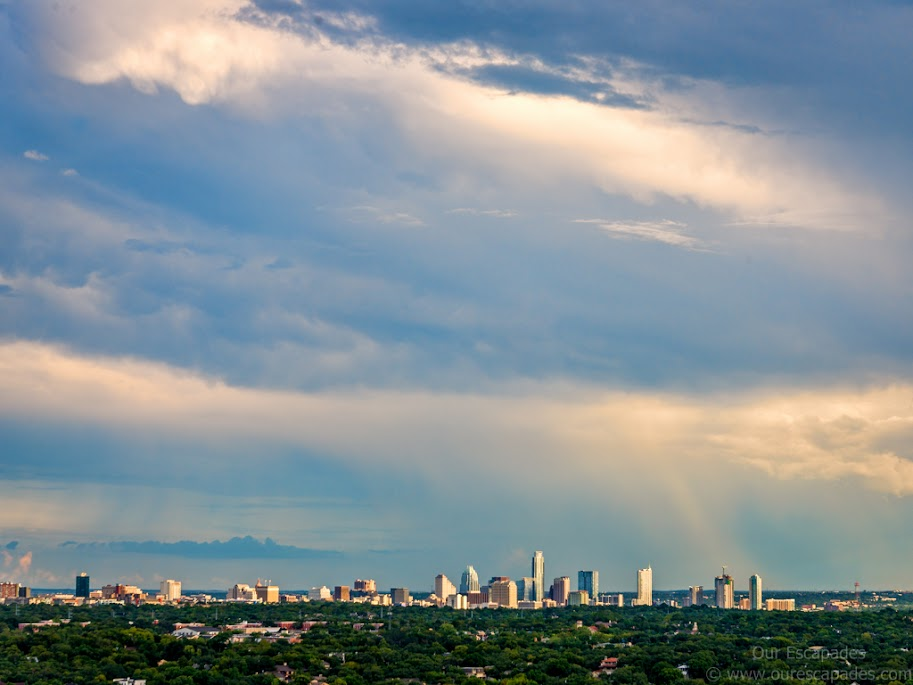 Downtown Austin, as seen from Mount Bonnell