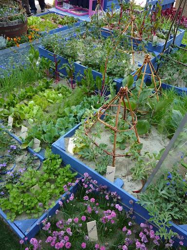 Sostegni sostegno e supporti per piccole piante rampicanti - Piccole aiuole da giardino ...