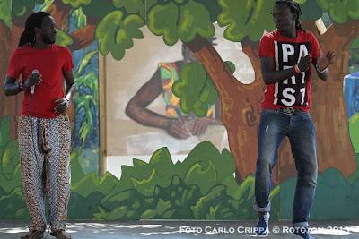 Benicassim, 18/08/2013 - Sunsplash 2013 - African Village / Danza Ndombolo - Photo by Carlo Crippa  © Rototom 2013
