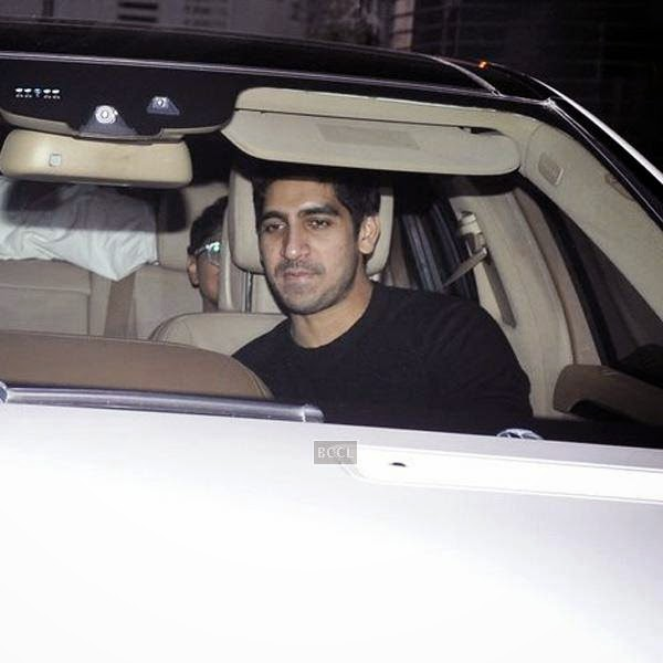 Ayan Mukerji and Kiran Rao leave after attending Karan Johar's party, organised at his residence, on July 26, 2014.(Pic: Viral Bhayani)