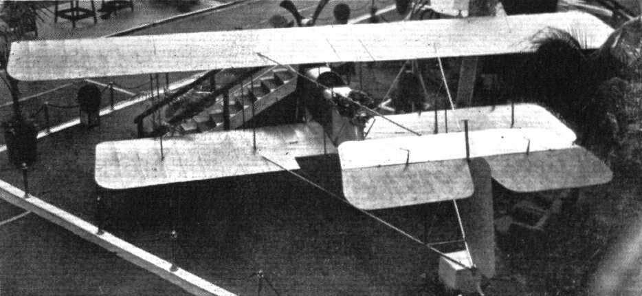 Experimental Fight Biplane No.1