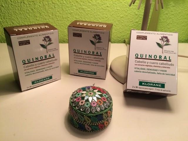 quinoral de klorane tratamiento anticaida