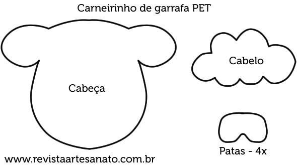 Carneirinho De Garrafa Pet Recicle Com Criatividade Revista
