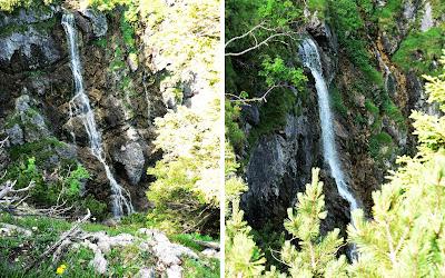 Wasserfall am Gaisalpsee