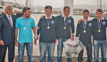 J/24 La Superba sailing team- Pasquavela winners