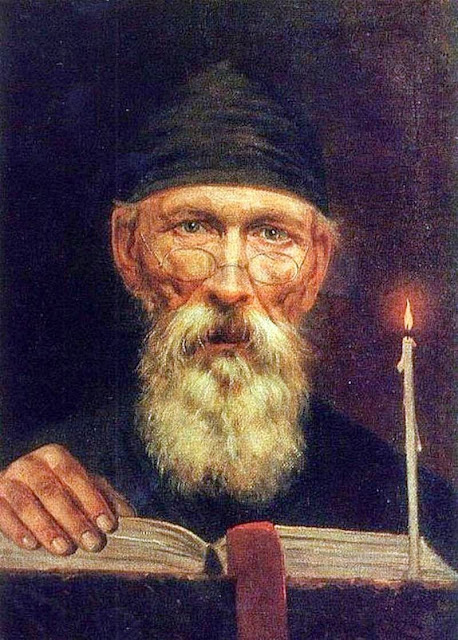 Vasily Tropinin - Monk with candle