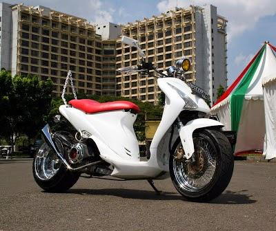 Suzuki Spin Modifikasi Ring 17