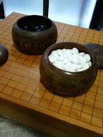 買取例:中古 碁盤 碁石セット