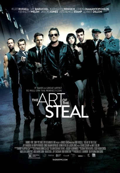 Poster Of English Movie The Art of the Steal (2013) Free Download Full New Hollywood Movie Watch Online At Alldownloads4u.Com