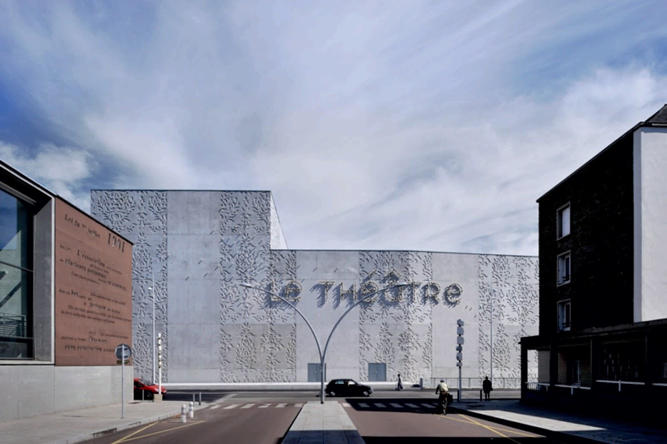 Saint-Nazaire, Francia: Theater of Saint Nazaire by K-ARCHITECTURES